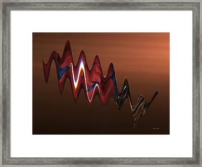 Harmonic Flow Framed Print