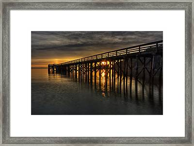 Harmonious Illumination  Framed Print by Mark Kiver