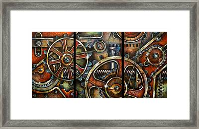 Harmony 7 Framed Print by Michael Lang