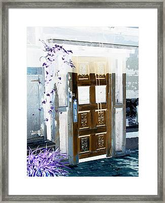 Harmony Doorway Framed Print