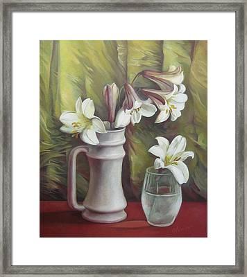 Harmony Framed Print by Elena Oleniuc