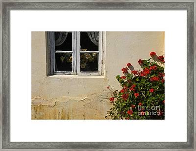 Flower Talk Framed Print