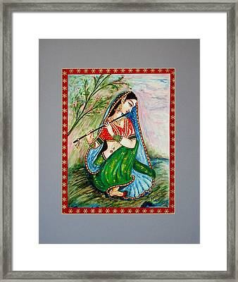 Framed Print featuring the painting Harmony by Harsh Malik