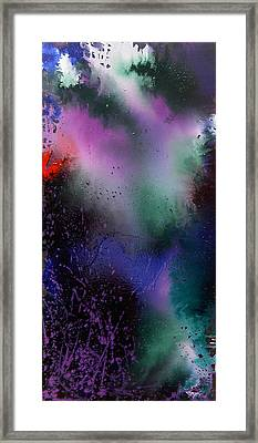 Framed Print featuring the painting Harmony by Min Zou
