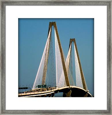 Harmony Of Charleston Framed Print by Karen Wiles