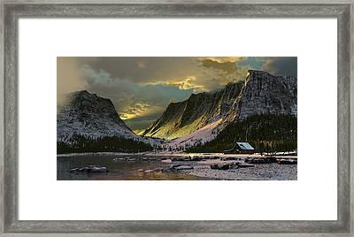 Harmony Of Light Framed Print by Dieter Carlton
