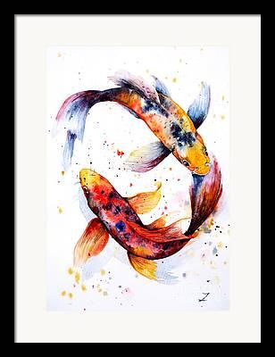 Koi Framed Prints