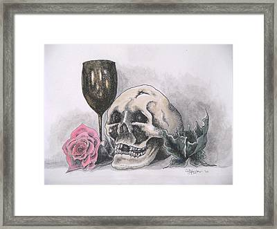 Harold And The Rose Framed Print