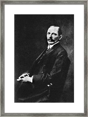 Harold Stiles Framed Print by National Library Of Medicine