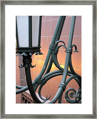 Harold Washington Library Detail Framed Print