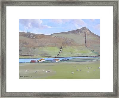 Haroldswick Shetland Islands Framed Print
