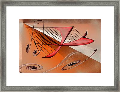 Harp Framed Print by Rick Thiemke