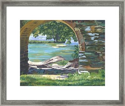 Harper's Arch Framed Print