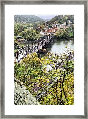 Harpers Ferry Framed Print by JC Findley