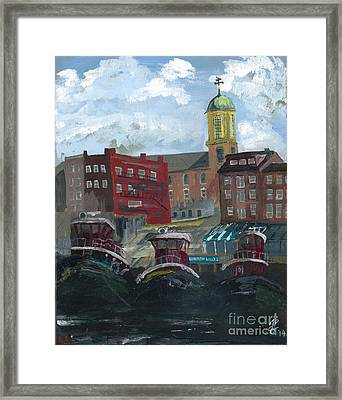 Harpoon Willy's Framed Print