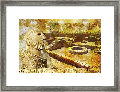 Harrappa Unesco World Heritage Site Framed Print by Catf
