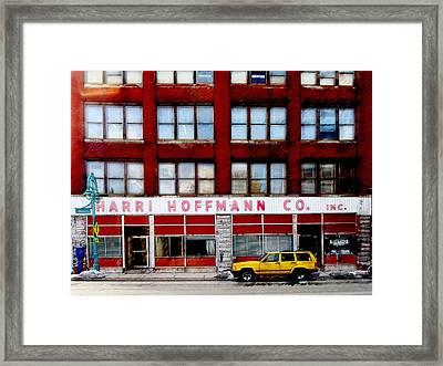 Harri Hoffmann Co Framed Print by David Blank