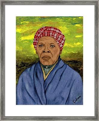 Harriet Framed Print by Delvon