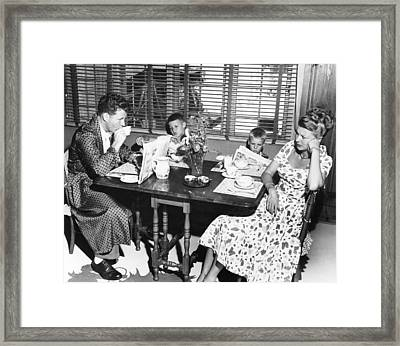 Harriet Nelson, Right, Obviously Framed Print