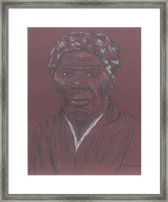Harriet Tubman Framed Print by Bob Gumbs