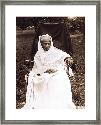 Harriet Tubman Portrait 1911  Framed Print