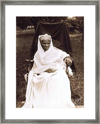 Harriet Tubman Portrait 1911  Framed Print