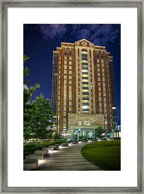 Harris County Civil Courthouse Framed Print