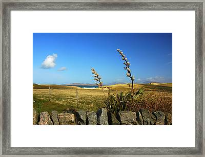 Harris Outer Hebrides Framed Print by The Creative Minds Art and Photography