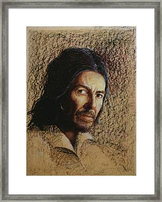 Harrison 1943-2002 Oil Pastel On Board Framed Print