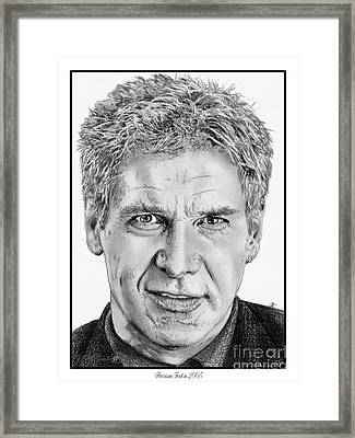 Harrison Ford In 2006 Framed Print by J McCombie