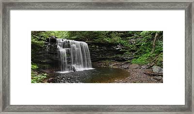 Harrison Wright Falls Framed Print