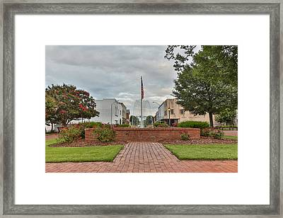 Harrington Square Framed Print