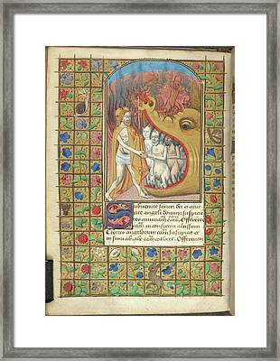 Harrowing Of Hell Framed Print