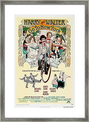 Harry And Walter Go To New York, Us Framed Print