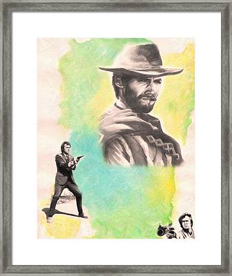 Harry Callahan 3 Framed Print by MotionAge Designs