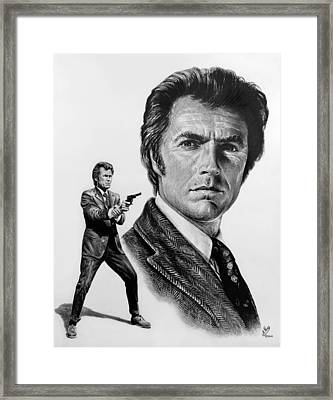 Harry Callahan Framed Print by Andrew Read