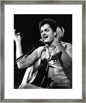 Harry Chapin 1977 Framed Print