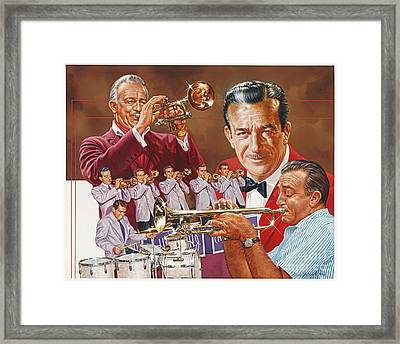 Harry James Trumpet Giant Framed Print