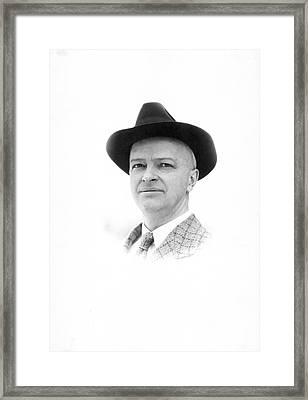 Harry Laughlin Framed Print
