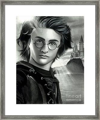 Harry Potter And The Goblet Of Fire Framed Print