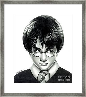 Harry Potter And The Philosopher's Stone Framed Print