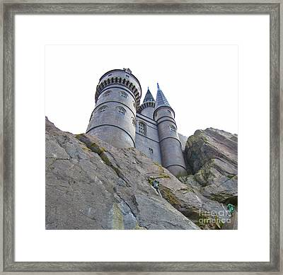 Harry Potters Castle Framed Print by Crystal Loppie