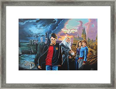 Harry Potter's World Framed Print