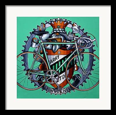 Harry Quinn Framed Prints