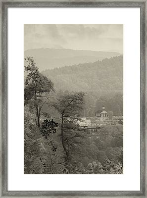 Harshaw Chapel Framed Print by Margaret Palmer