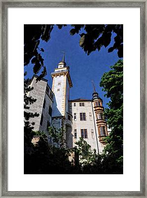 Hartenfels Castle - Torgau Germany Framed Print