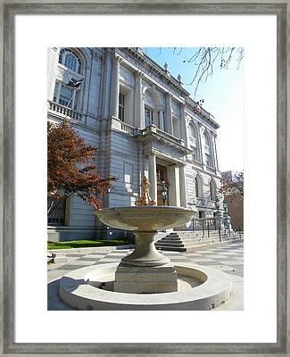Hartford Historical Building Framed Print