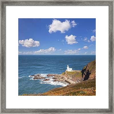 Hartland Point Devon England Framed Print