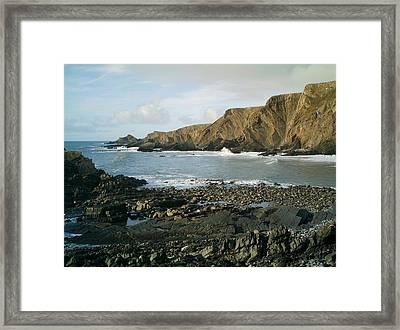 North Devon - Hartland Quay Framed Print