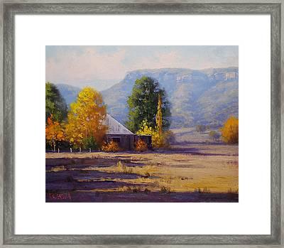 Hartley Autumn Framed Print